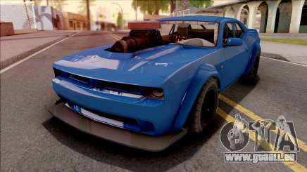 GTA V Bravado Gauntlet Hellfire Custom IVF pour GTA San Andreas