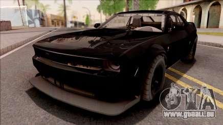 GTA V Bravado Gauntlet Hellfire IVF pour GTA San Andreas