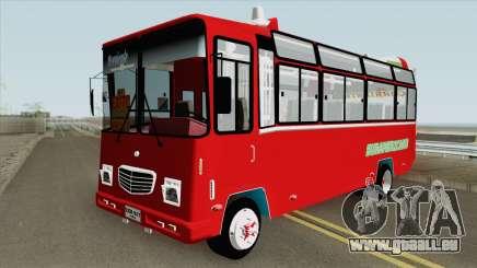 Buseta NPR Superior Colombiana pour GTA San Andreas