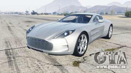 Aston Martin One-77 2012 pour GTA 5