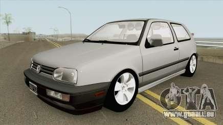 Volkswagen Golf MK3 MQ pour GTA San Andreas