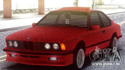BMW M6 E24 Red pour GTA San Andreas