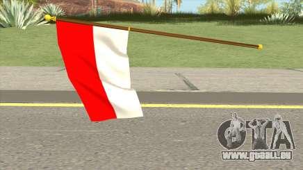 Indonesia Flag pour GTA San Andreas