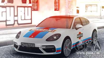 Porsche Panamera MARTINI pour GTA San Andreas