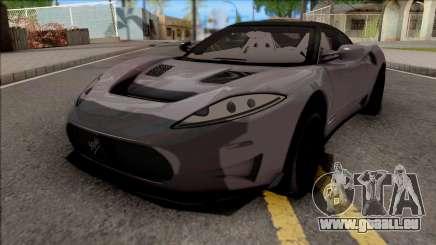 Spyker C8 Preliator 2017 für GTA San Andreas