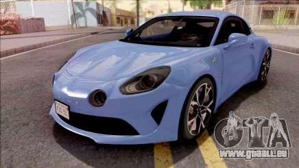 Alpine A110 2017 pour GTA San Andreas