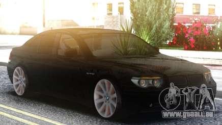 BMW 750i Black pour GTA San Andreas