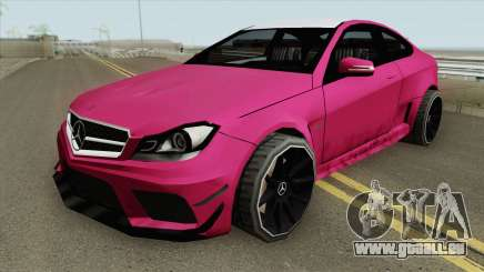 Mercedes-Benz C63 2014 pour GTA San Andreas