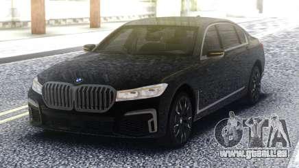 2020 BMW 7 series 740i pour GTA San Andreas