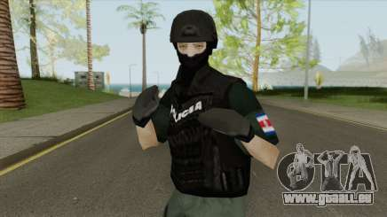 U.E.A Official Costa Rica Police Skin pour GTA San Andreas