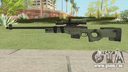 Battlefield 3 L96 Sniper pour GTA San Andreas