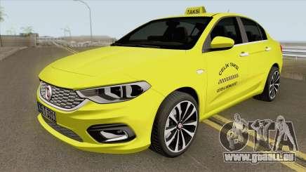 Fiat Egea Taxi pour GTA San Andreas