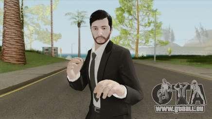 GTA Online Skin The Workaholic V2 für GTA San Andreas