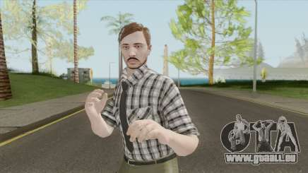 GTA Online Skin The Workaholic V1 pour GTA San Andreas