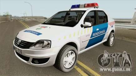 Dacia Logan Magyar Rendorseg pour GTA San Andreas