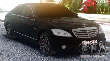 Mercedes-Benz W221 S63 AMG für GTA San Andreas