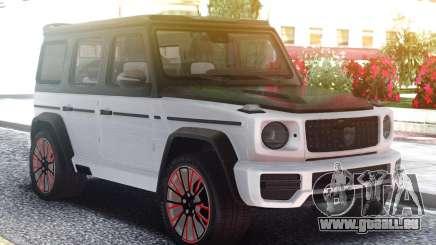 Mercedes-Benz G770 CLR Lumma White pour GTA San Andreas