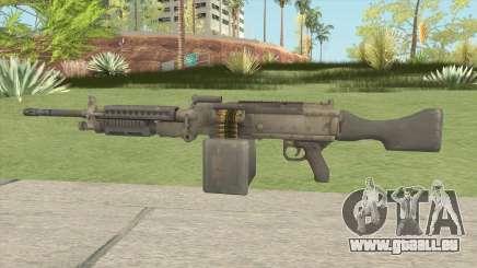 Battlefield 4 M240B pour GTA San Andreas