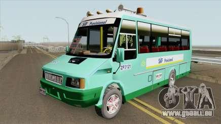 Iveco Daily Minibus pour GTA San Andreas