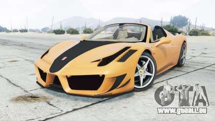 Ferrari 458 Spider Mansory Monaco Edition 2012 pour GTA 5