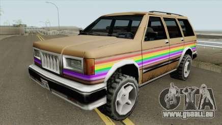 Landstalker Rainbow für GTA San Andreas