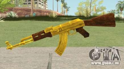 COD: MW1 AK-47 (Gold) pour GTA San Andreas