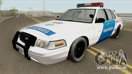 Ford Crown Victoria Magyar Rendorseg pour GTA San Andreas