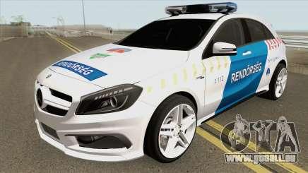 Mercedes A45 AMG Magyar Rendorseg pour GTA San Andreas