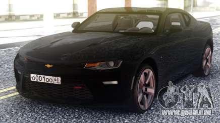Chevrolet Camaro Black Coupe für GTA San Andreas