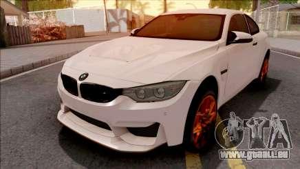 BMW M4 GTS White pour GTA San Andreas