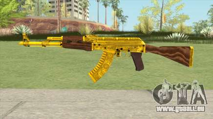 AKM Gold Cartel Skin für GTA San Andreas