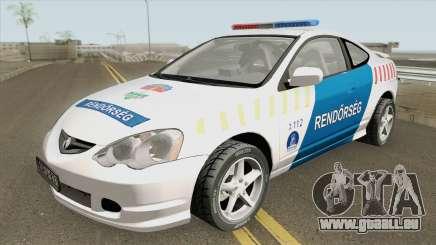 Acura RSX Magyar Rendorseg pour GTA San Andreas