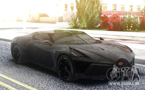 Bugatti La Voiture Noire 2019 pour GTA San Andreas
