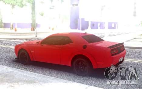 Dodge SRT Demon 2020 TURBO KE32 pour GTA San Andreas