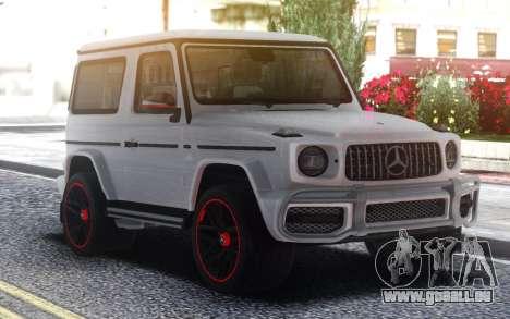 Mercedes-Benz G63 464 Coupe pour GTA San Andreas