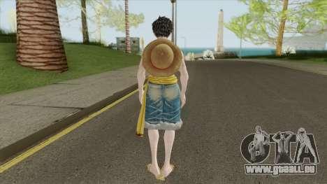 Monkey D Luffy pour GTA San Andreas