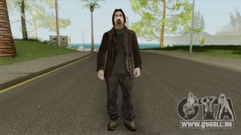 Urban Male Criminal (Dark Brown Leather Jacket) pour GTA San Andreas