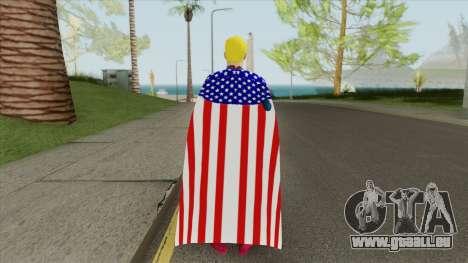 Homelander (Capitao Patria) V2 pour GTA San Andreas