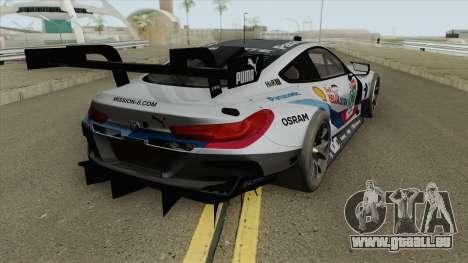BMW M8 GTE 2018 pour GTA San Andreas