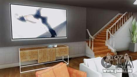 New CJ House (GTA Online Style) pour GTA San Andreas