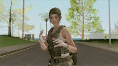Claire Redfield Military (RE2 Remake) pour GTA San Andreas