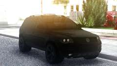 Volkswagen Touareg Black für GTA San Andreas