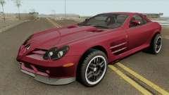 Mercedes-Benz SLR Mclaren 722 2006 pour GTA San Andreas