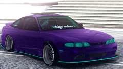 Nissan 180SX S14 Zenki pour GTA San Andreas