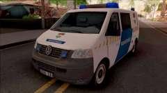 Volkswagen Transporter 5 Magyar Rendorseg pour GTA San Andreas