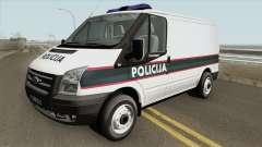 Ford Transit Policija MQ pour GTA San Andreas