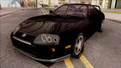Toyota Supra Black für GTA San Andreas