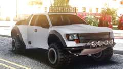 Ford F150 Raptor White pour GTA San Andreas