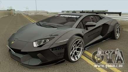 Lamborghini Aventador LP700-4 Liberty Walk 2012 pour GTA San Andreas