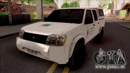 Nissan Frontier Srednjobosanske Sume pour GTA San Andreas